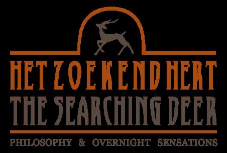 het zoekend hert logo